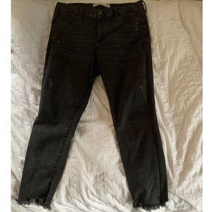 Gap Women's Skinny Black Jean Inner Cozy Leggings